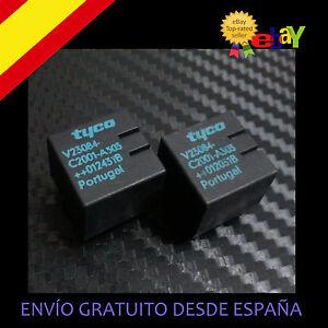 2-UD-RELE-ZKE-V23084-C2001-A303-E46-AUDI-VW-CITROEN-MERCEDES-TYCO
