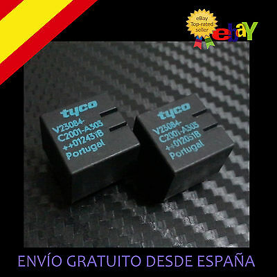2 UD RELE ZKE  V23084-C2001-A303 E46 :BMW AUDI VW CITROEN MERCEDES TYCO