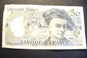 Billet 50 Frs De La Tour 1978 - Qualitee Tb+ // Y.10 0bdeddwp-07224006-741367711