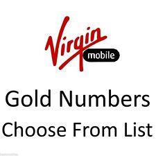 GOLD VIP BUSINESS EASY MOBILE PHONE NUMBER DIAMOND PLATINUM SIM CARD VIRGIN