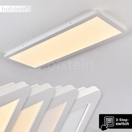 dimmbare LED Design Bad Decken Beleuchtung eckige Wohn Schlaf Zimmer Flur Lampen