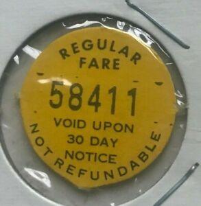 Tallahassee-Florida-FL-Regular-Fare-Taltran-Fibre-Fiber-Transportation-Token