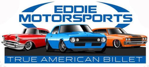 "Eddie Motorsports MS275-38P Polished Hood Adjuster 5//16/"""