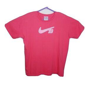 fuegos artificiales suma Mal  Vintage Nike 72 Women's XL Gray Tag Nike Athletics T-Shirt Pink | eBay
