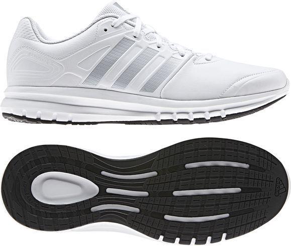 Los últimos zapatos de descuento para hombres y mujeres Adidas Duramo Cuero Hombre Zapatillas De Correr Ocio Blanco Plata, d66620