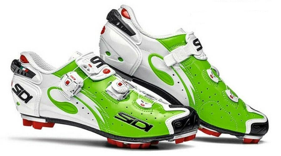 [SIDI] Drako Road Bike Bicycle Cycling shoes Green Fluo-White