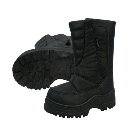 XTM Predator Mens Black Snow Boots Asst Size Euro 36-48