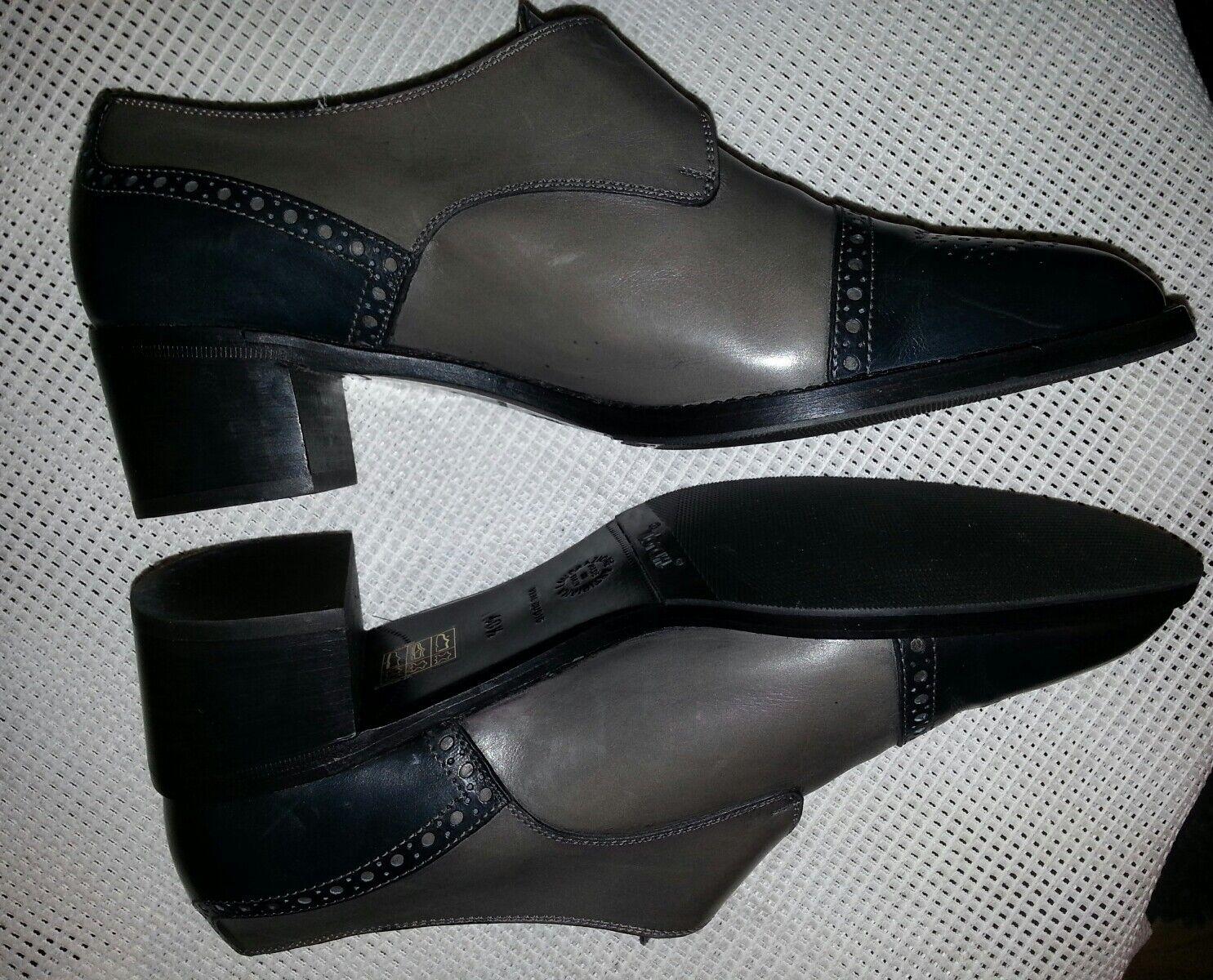 Top MARETTO  Designer Damenschuhe Schuhe Echtleder Gr.40,5 Gr.40,5 Gr.40,5 Grau-Schwarz b21da7