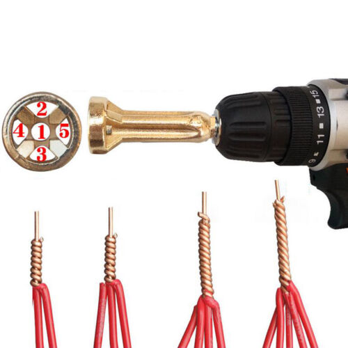 Universal Connector Electrical Drill Bit Cable Quick And Stripper 2.5-4-6-Square