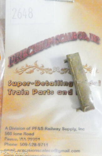 Brass Casting For: Tender Precision Scale HO #2648 Tool Box Long