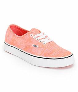 Vans Authentic (Sparkle) Coral Skate