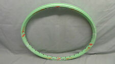 "NEW PLANET X FAST RIM - 24"" 36H GREEN - DIRT JUMP MOUNTAIN BIKE TRAILS CLEARANCE"