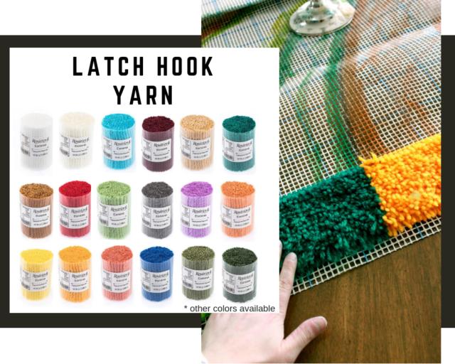Tapestry Rug Yarn 5 x 25g Latch Hook Yarn Knotted Wool Pre Cut Wool 125g