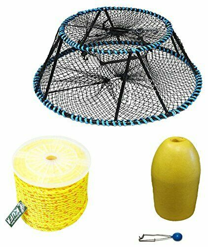 KUFA Sports Vinyl Coated Tower Style Prawn Trap & Accessories CT130FYP403