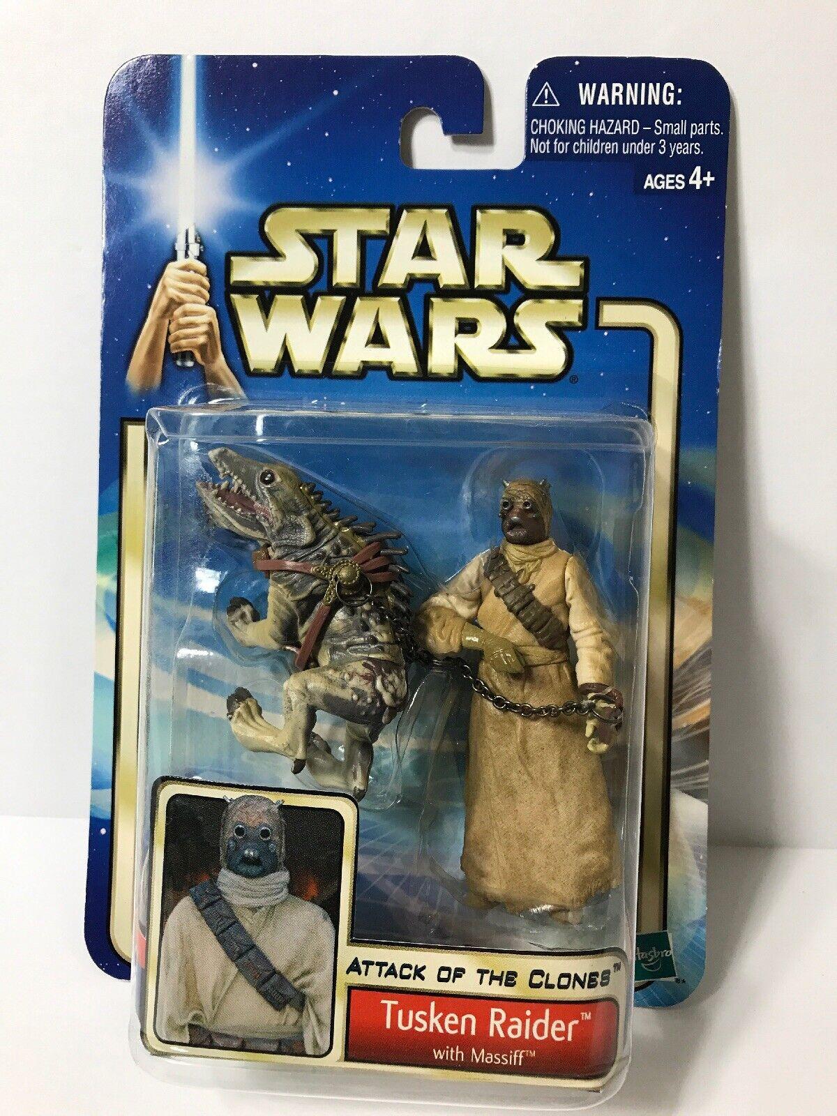attaque des clones/'02 #52 Hasbro Star Wars Tusken Raider avec massiff