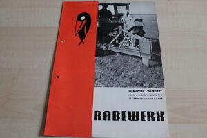 Rabewerk Tieflockerungsgerät Würger 144297 Prospekt 03/1971