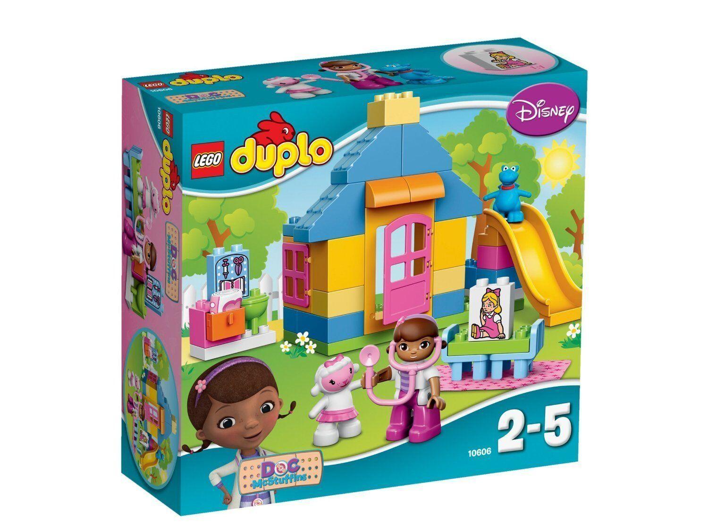 LEGO ® DUPLO ® 10606 DOC PELOUCHE clinica GIARDINO NUOVO NEW OVP MISB
