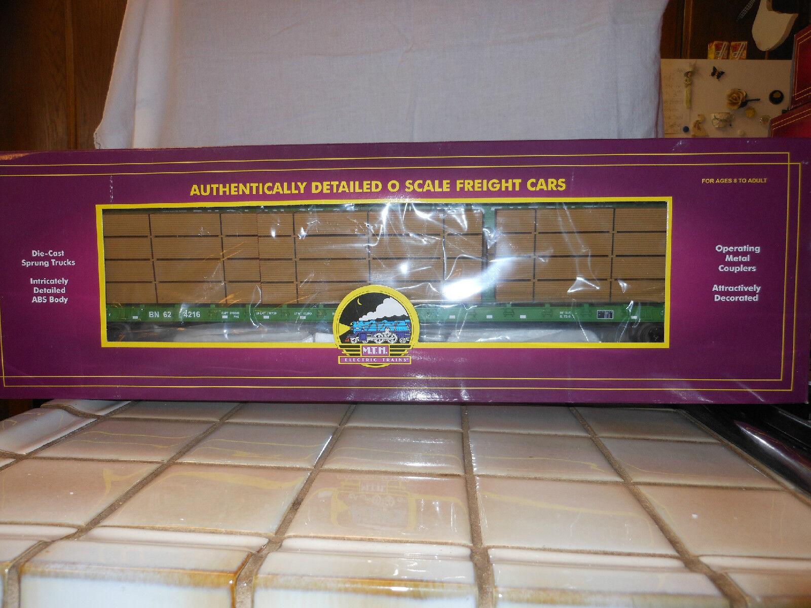 MTH PREMIER 20-90014 BURLINGTON NORTHERN FREIGHT SET NIB NIB NIB RATED C9 FACTORY NEW 48824f
