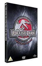 Jurassic Park/The Lost World/Jurassic Park 3 (DVD, 2007) Trilogy Box Set