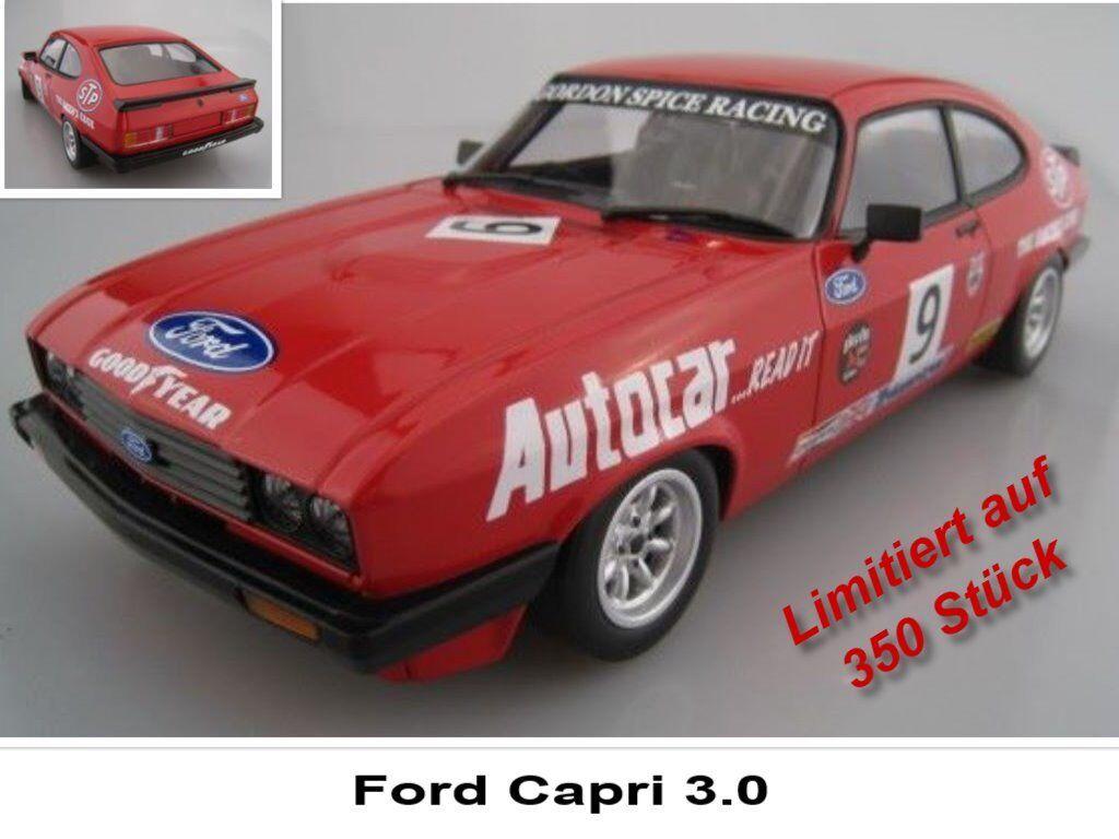 Ford Capri 3.0 limitado a 350 unidades Minichamps 1 18 OVP nuevo