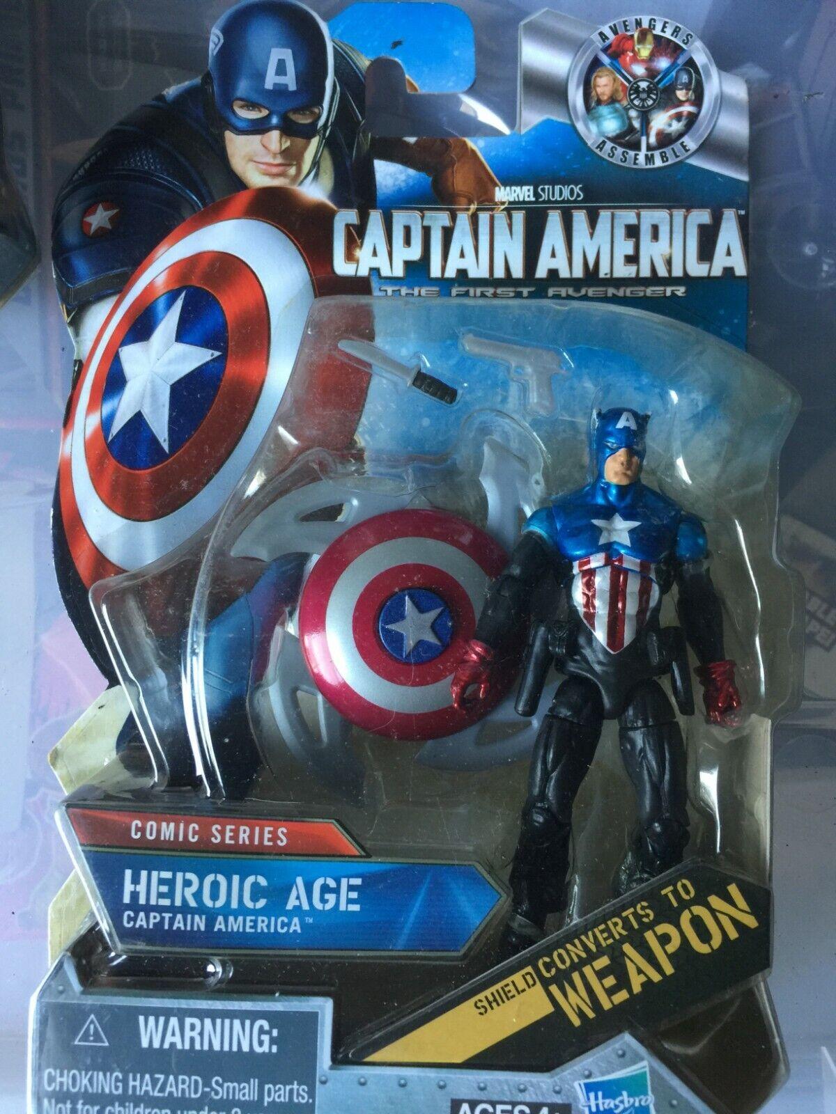Captain America Marvel Universe Legends Infinite 3.75  Action Figure Hasbro
