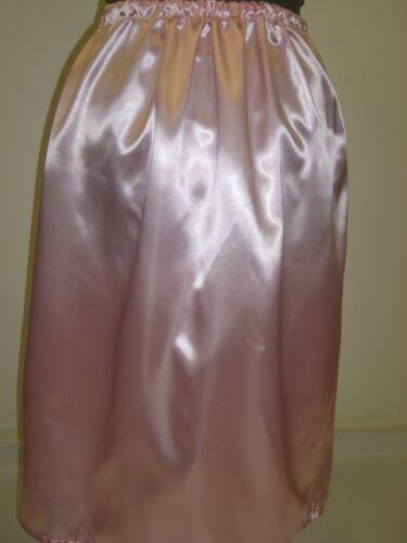 light pink satin underskirt slip 10 12 14 16 18 20 22 24 26 28 30 32 34 36 38