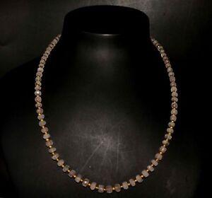 eVB971-Rose-Quartz-Natural-Gemstone-necklace-Collar-de-cuarzo-rosa-natural
