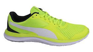 Flext1 Up Mens Lace 03 Puma Trainers Foam U132 Soft Grey Textile Yellow 362386 dwx5Xq