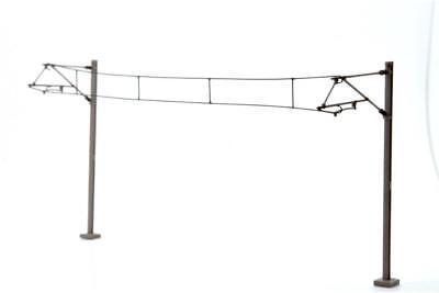 Pack 10 Dapol OOCAT1 OO Gauge Single Track Catenary Mast
