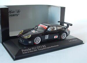 Minichamps 1:43 Porsche 911 GT3 RS T2M Le Mans 2005