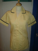 Ladies HW Lemon/Black Tunic - Healthcare,Nursing,Vets,Cleaning, Uniforms,nurses