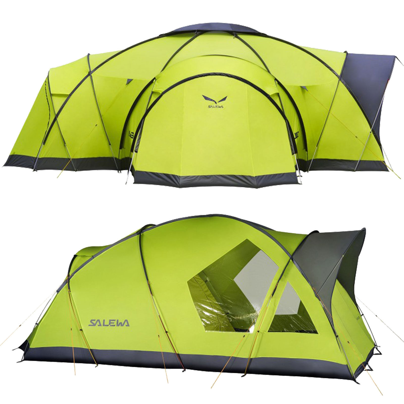 Salewa Alpine Lodge Group Tent Family Tent Tent Large Tent 4-5 Person