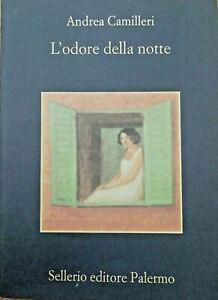 LIBRO-Andrea-Camilleri-039-Odore-della-Notte-Sellerio-Editore-Palermo-2001-ITA