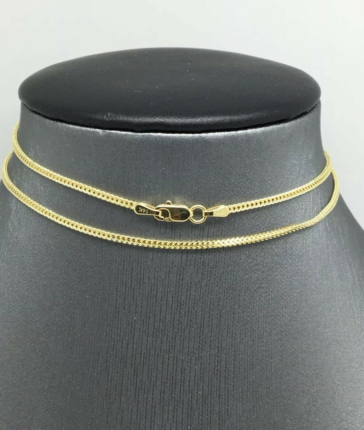 14K Yellow gold Chain 1.40mm 18 inches