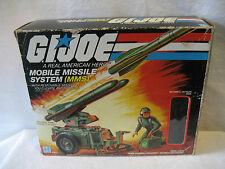1982 vintage GI Joe MMS Mobile Missile System vehicle w/ box 80s G.I. Hasbro toy
