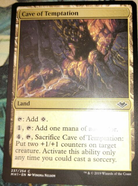 cave of temptations x4 common modern horizons magic the