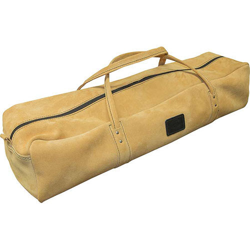 NEW CONNELL OF SHEFFIELD UK MADE - LARGE SUEDE LEATHER TOOL BAG - CONHH2