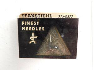 NOS-Vintage-Pfanstiehl-DIAMOND-NEEDLE-375-DS77-Replaces-Electro-Voice-2646DS