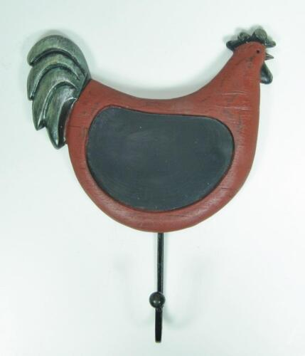 Chicken Shaped Message//Chalkboard with Hanger Antique Country Style Wall Decor