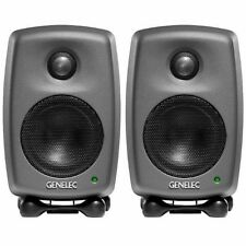 Genelec 8010A Active Studio Monitors (Pair) - Grey
