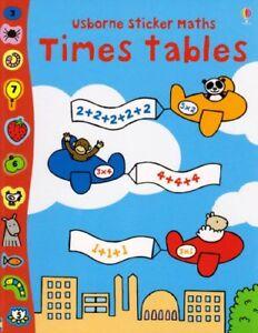 Times-Tables-Usborne-Sticker-Maths-Usborne-Sticker-Maths-By-Fiona-Watt