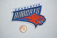 Charlotte Bobcats 3 3/4 Patch 2004-2012 Primary Logo Basketball
