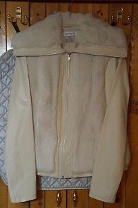 Oyster Fur Læder Jacket Faux Af Size Nwot Ægte Xs Nine West rqAwBtrx