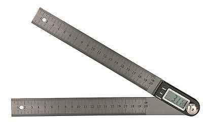 Digital- Stellwinkel 0-180° 200 Mm - Ablesung 0.1° - Maßstab Mit Mm- Skalierung Um Eine Reibungslose üBertragung Zu GewäHrleisten