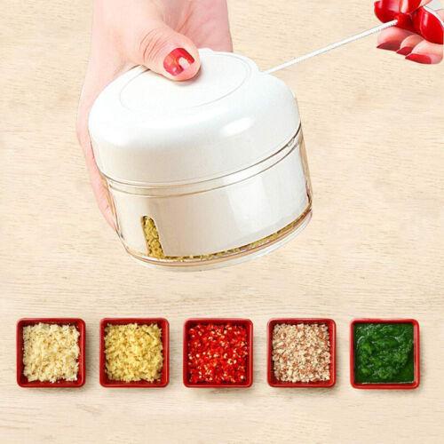 Manual Food Meat Chopper Handheld Ginger Slicer Pepper Cutter Kitchen Handhold