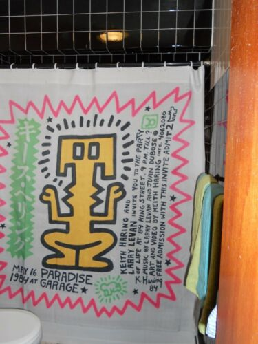 Shower curtains collection - Keith haring shower curtain ...