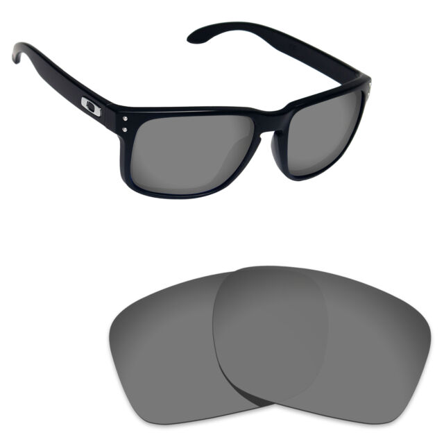 Hawkry Polarized Replacement Lenses for-Oakley Holbrook Sunglass Sport Black 49883e38a9bc