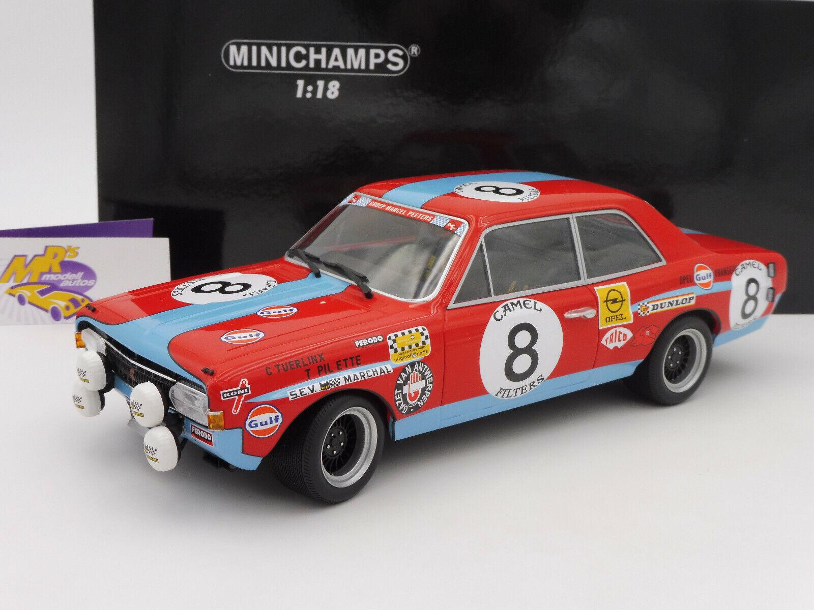 MINICHAMPS 155724608    Opel Commodore A Steinmetz 24 H Spa 1972 Tuerlinx 1 18  designer en ligne