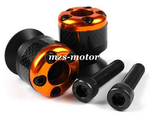 8mm Carbon Fiber Swingarm Slider Spools Universal Honda CBR1000RR CBR600RR RC51