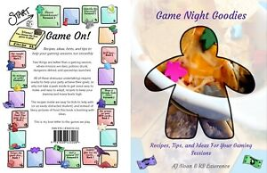 Game Night Goodies (PAPERBACK) Cookbook for Boardgamers with Hints and Tips